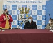 ALCALDE PARTICIPA EN ENTREGA DE FONDOS A LOS ADULTOS MAYORES DE REQUÍNOA